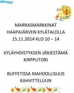 MARRASMARKKINAT