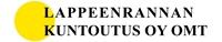 Lappeenrannan kuntoutus Oy OMT logo