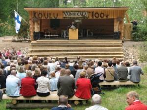 Tähän mennessä suurin kesäteatterilla järjestetty tapahtuma on ollut Vainikkalan koulun 100 vuotisjuhla elokuussa 2006