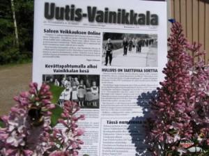 Lehteä myydään irtonumeroina Ravintola Ukko-Pekassa. Kuvassa vuoden 2007 kesäkuun lehti