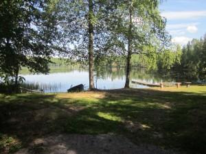 Uimaranta sijaitsee luonnonkauniilla ja rauhallisella alueella