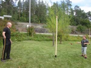 Kesällä 2013 puisto sai uusia pallopelejä sekä puujalat, joilla voi testailla kävelyä korkeuksissa