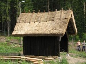 Katto saatiin valmiiksi kahden koulutuspäivän aikana.