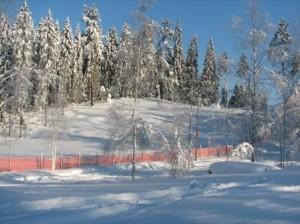 Hiihtomaa historiallisen lumimyräkän jälkeen marraskuussa 2006