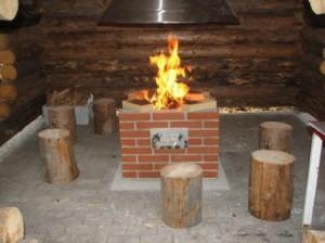 Pytingin grillissä voi tarvittaessa polttaa isoa tulta. Näin tehden veto on paras mahdollinen