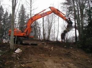 Kellarin omistaja, Lpr:n kaupunki totesi kellarin olevan kokonaan purettavassa kunnossa. Kaivuri siisti alueen 29.11.2003