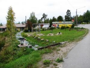 Hankkeen aikana valmistunut Sale-puisto