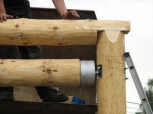 Kiikun ylärakenteesta pyrittiin tekemään mahdollisimman kestävä ja turvallinen